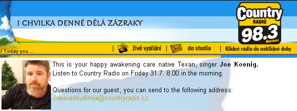 Country Radio CZ & Greece Day 1